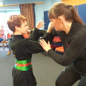 samantha hallam, junior warriors, kids kung fu classes, kung fu classes hastings
